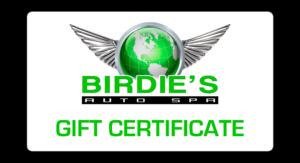 Birdie's Gift Certificate